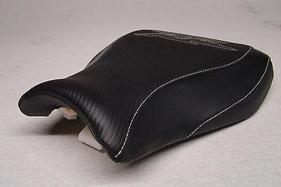HONDA 2007/8/09/10/11  CBR 600RR  RIDER   CUSTOM SEAT COVER BLACK  MADE OF VINYL