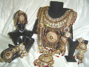 Image Is Loading Bollywood Indian Jewelry Jodha Akbar Kundan Bridal Wedding