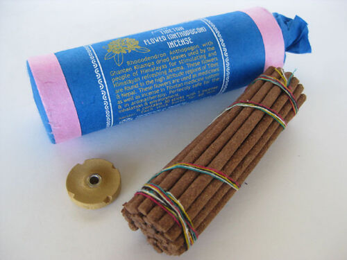 Tibetan Flower Incense ~ Rhododendron anthopogon, stimulating refreshing aroma
