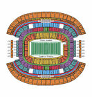 Dallas Cowboys vs IN PROGRESS Philadelphia Eagles Tickets 12/29/13 (Arlington)