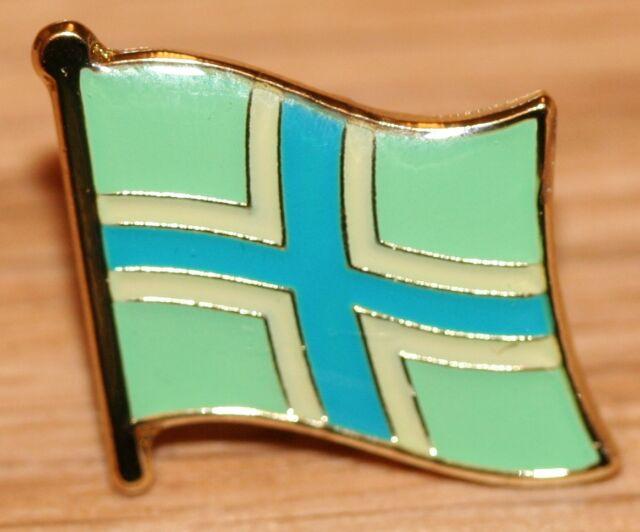 Gloucestershire England County Flag Enamel Pin Badge UK Great Britain