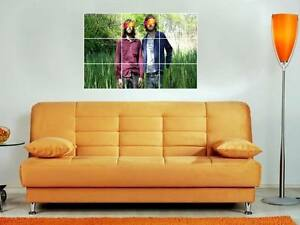 RATATAT-35X25-MOSAIC-WALL-POSTER-DANCE-ELECTRO-HOUSE
