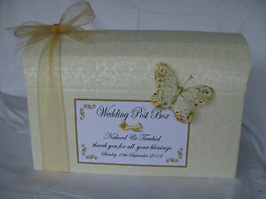 Beautiful-ivory-diamante-wedding-post-box-with-without-decoration-various-colour