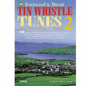 110-Ireland-039-s-best-tin-whistle-tunes-Vol-2-Irish-Tutor-Book-with-guitar-chords