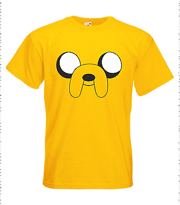 ADVENTURE TIME JAKE THE DOG T SHIRT - MENS - S TO XXL