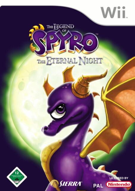 The Legend of Spyro: The Eternal Night (Nintendo Wii, 2007, DVD-Box)