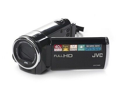 JVC Everio GZ-HM40 Full HD 1920x1080 Camcorder HDMI 40x Zoom BLACK