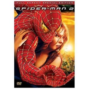 Spider-Man-2-DVD-2004-2-Disc-Set-Special-Edition-Fullscreen-Disc-Only