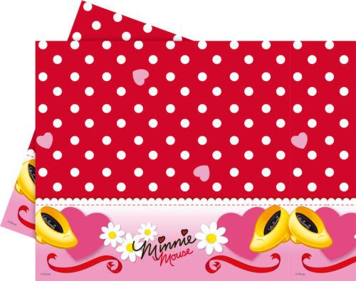 Minni Maus Party Deko Kindergeburtstag Geburtstag Motto Minnie Mouse rot Feier