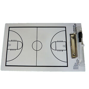 924-Basketball-Coaching-Board-Coaches-Clipboard-Dry-Erase-w-marker