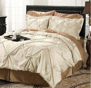 Hutton Wilkinson Satin Pearl 3 Piece Coverlet And Shams