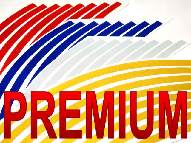 PREMIUM Reflective Wheel Decal Rim Tape Honda Hornet 599 919 CB600F CB900F CB600