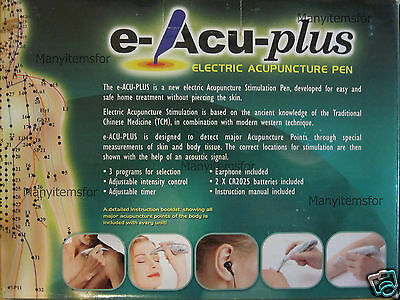 ACU PEN ELECTRONIC ACUPUNCTURE STIMULATOR 12 pack