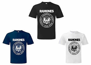 Ramones-American-Punk-Rock-Band-Music-Tour-Biker-T-shirt-RAM-Tee-S-M-L-XL-XXL