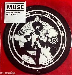 MUSE-Supermassive-Black-Hole-UK-7-034-Picture-Disc-Sticker-sealed-Vinyl-Record