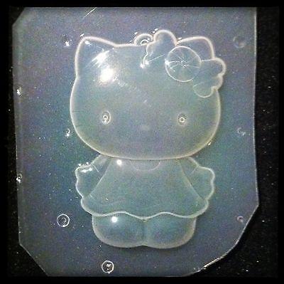 RESIN Kitty Cat Flexible Plastic MOLD