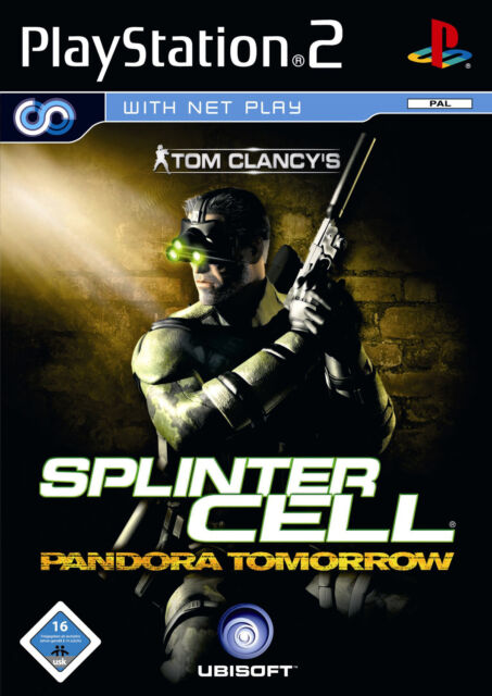 Tom Clancy's Splinter Cell Pandora Tomorrow Sony Playstation 2 PS2 nur CD gebrau