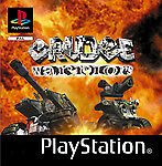 Grudge Warriors - Sony Playstation 1 PSX PS1 - nur CD - gut