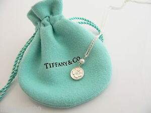 Tiffany-amp-Co-Silver-Nature-Rose-Pearl-Necklace-Pendant-Charm-Chain-Rare