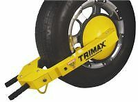 Trimax-UltraMax-Adjustable-Auto-Trailer-ATV-UTV-Clamp-Boot-Wheel-Tire-Disc-Lock
