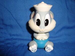 "Baby Bugs bunny as Sailor 1998 Warner Bros 3.25"" PVC"