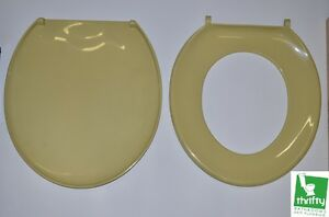 harvest gold toilet seat. Image is loading New Retro Harvest Gold Toilet Seat Complete with  Fixings eBay