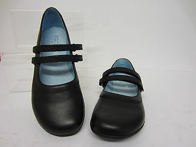 Start Rite Rhianna 72817-7 Older Girls Black Shoe UK6.5 x 7.5 F & G Fit (R8B)
