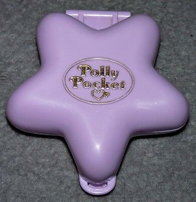 Polly Pocket Fairy Fantasy 80er 90er Jahre Vintage Mini Stern Lila Elfe Fee