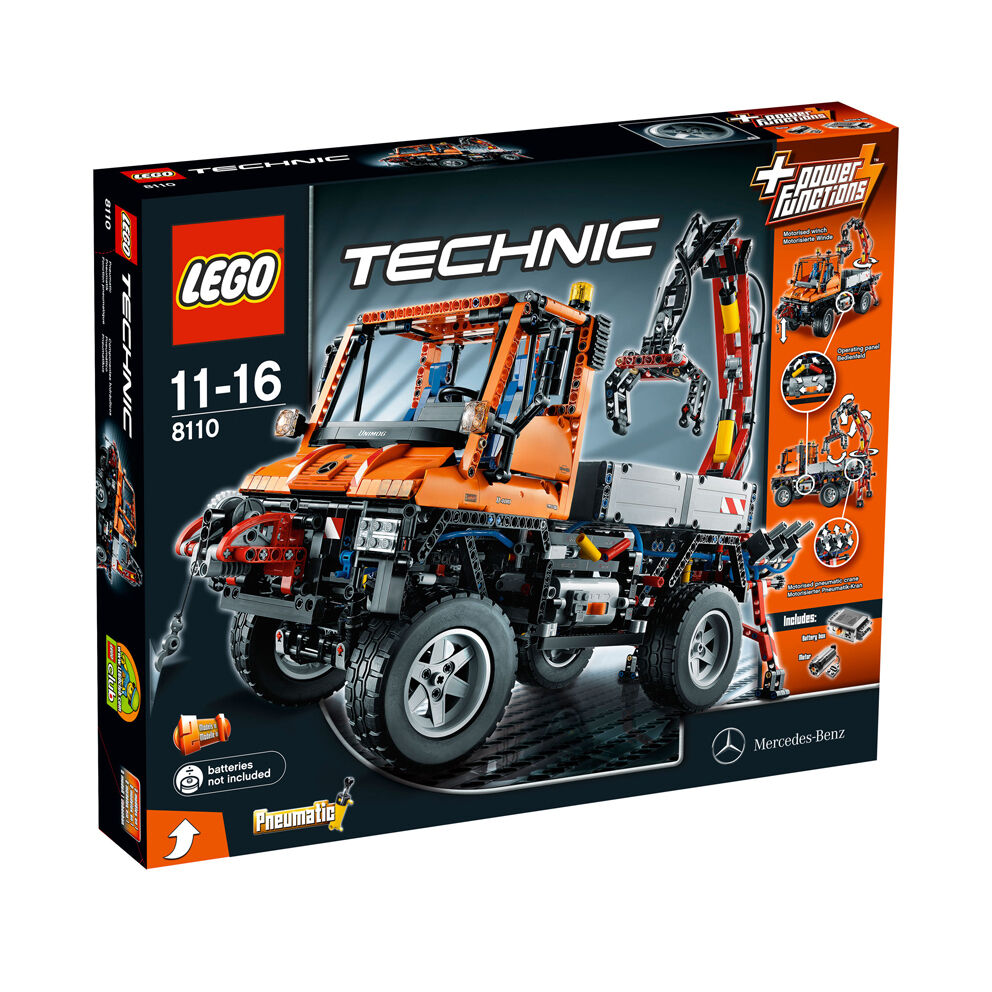 Lego Technic 8110 Mercedes-Benz Unimog U 400  New Sealed