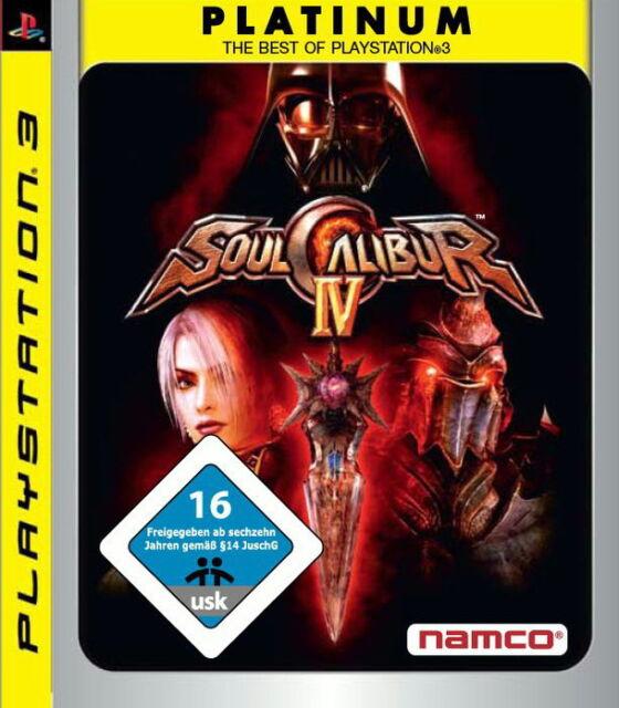 SoulCalibur IV (Sony PlayStation 3, 2009)(H) 3216