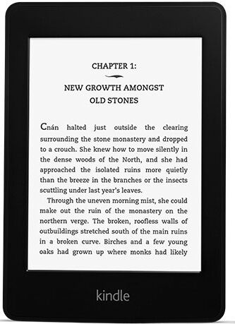 NEW Amazon Kindle Paperwhite 2GB, Wi-Fi, 6in - Black - Next 2013 Generation
