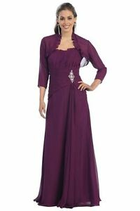 New-plus-size-24-26-purple-dress-for-women-formal-gala-ball-prom-evening-gown