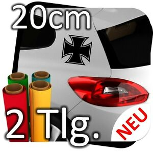 20cm-CROIX-DE-FER-Autocollant-sticker-lunette-arriere-AUTOCOLLANT-lateral