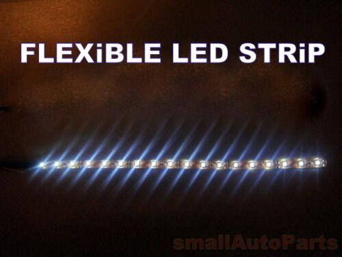 "**12/"" WHiTE LED STRIP* Flexible 18 SMD Water Proof Light bulb 12V for Motorcycle"