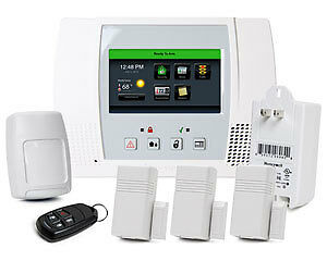 honeywell lynx touch l5100pk wireless alarm system do it yourself home or work ebay. Black Bedroom Furniture Sets. Home Design Ideas