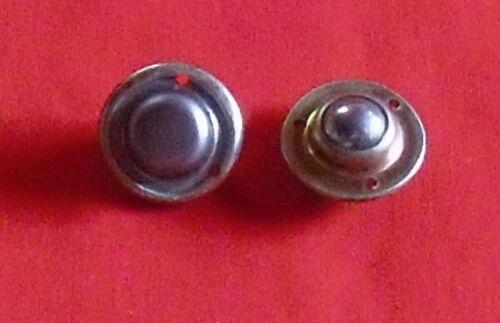 Kugelrollen Metall einbaubar Dm 25mm  20 Stück bis 40 Stück