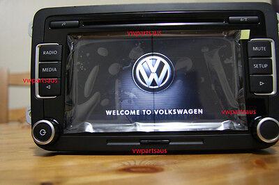 Genuine VW RCD 510 6 CDs Head Unit Stereo for Golf Jetta EOS Passat Tiguan Polo