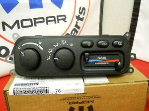 Dodge Ram 1500 2500 3500 A/C AC heater heat control head ...