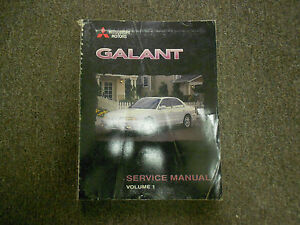 2006 mitsubishi galant service shop manual cd factory oem how to fix bargain 06