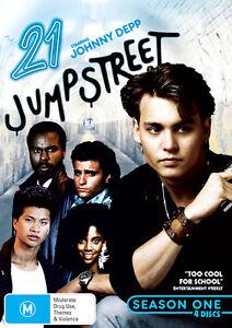 21 Jump Street : Season 1 (DVD, 4 Disc) *NEW & SEALED *Fast Shipping *Region 4
