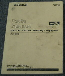 Caterpillar cb 224 Parts manual
