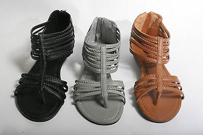 New Women's Fashion Gladiator Strappy Sandals Shoe's *Run a size small read note
