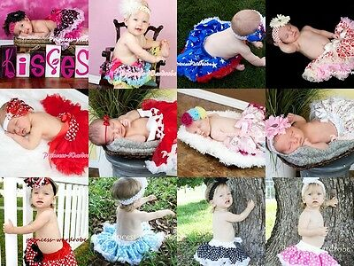 OPTIONAL Pattern Printing Newborn Baby Pettiskirt Skirt Petti Tutu Dress NB-12m