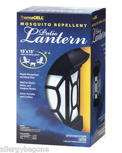 Beautiful Image Is Loading ThermaCELL MR9W Cordless Mosquito Repellent Patio Lantern