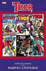 Thor: Official Index to the Marvel Universe by Marvel Comics (Paperback, 2011)