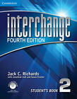 Interchange Level 2 Student's Book with Self-study DVD-ROM by Jack C. Richards (Mixed media product, 2012)