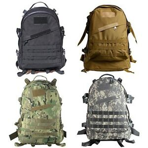 Outdoor Molle Military Tactical Rucksacks Backpack Hiking Trekking ...
