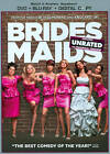 Bridesmaids (Blu-ray/DVD, 2011, 2-Disc Set, Unrated/Rated Includes Digital Copy DVD/Blu-ray)