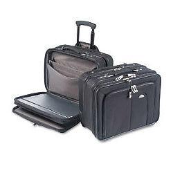 Samsonite - Mobile Office Rolling Notebook Case Black for sale ... 08a4f799e9bbc
