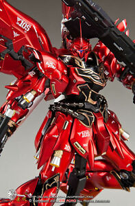 Detail Up Conversion 1/100 MSN-06S Sinanju Unique Gundam Gunpla Metal Parts